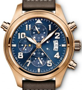 AAA Replica IWC Pilot's Special Edition 'Le Petit Prince' Red Gold Watch From x-watch.co!