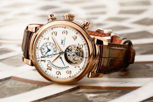 SIHH 2017: IWC Da Vinci Tourbillon Watch Replica