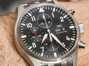 New For 2017 Replica IWC Pilot's Chronograph Mens Watch Guide