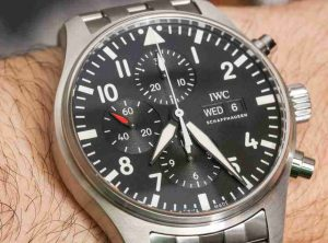 Best Replica Swiss IWC Pilot's Chronograph Watch Guide