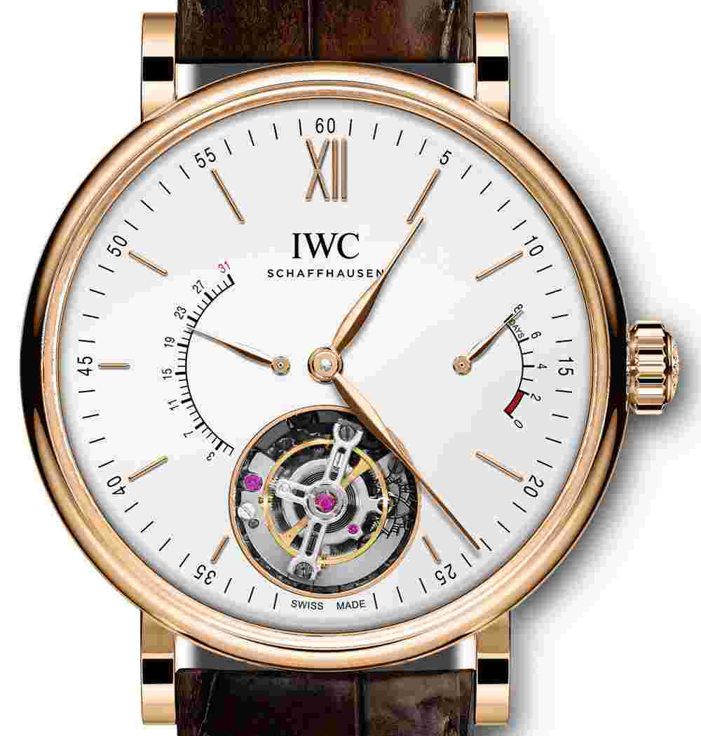 Replica IWC Portofino Hand-Wound Tourbillon Rétrograde Watch Review