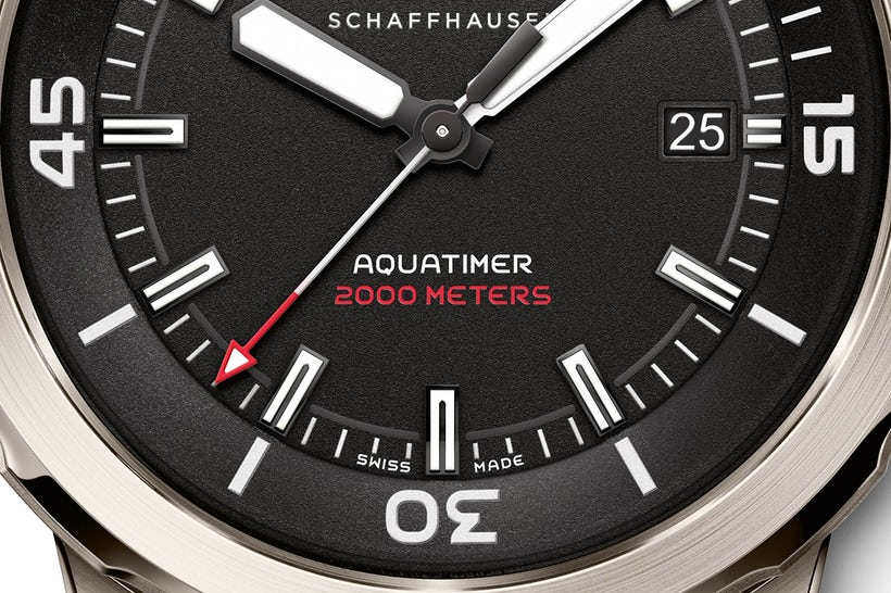 Replica Swiss IWC Aquatimer Automatic 2000 35 Years Ocean 2000 Watch