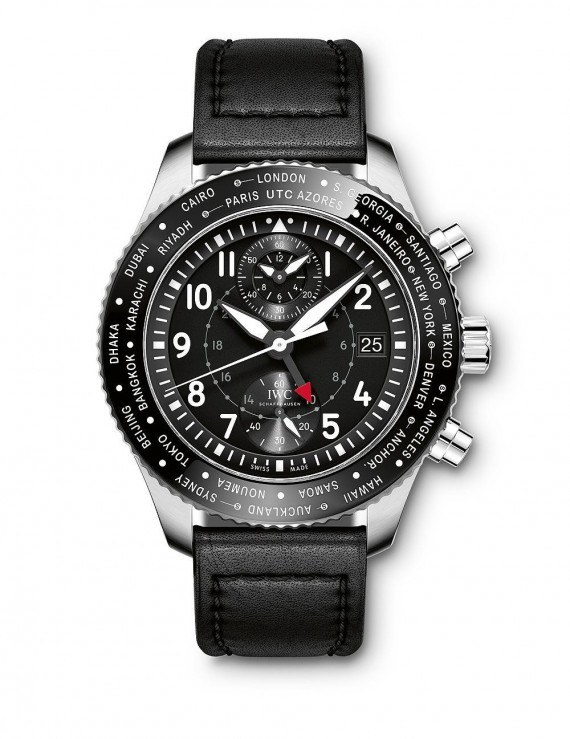 Guide IWC Pilot's Watch Timezoner Chronograph Replica Watch