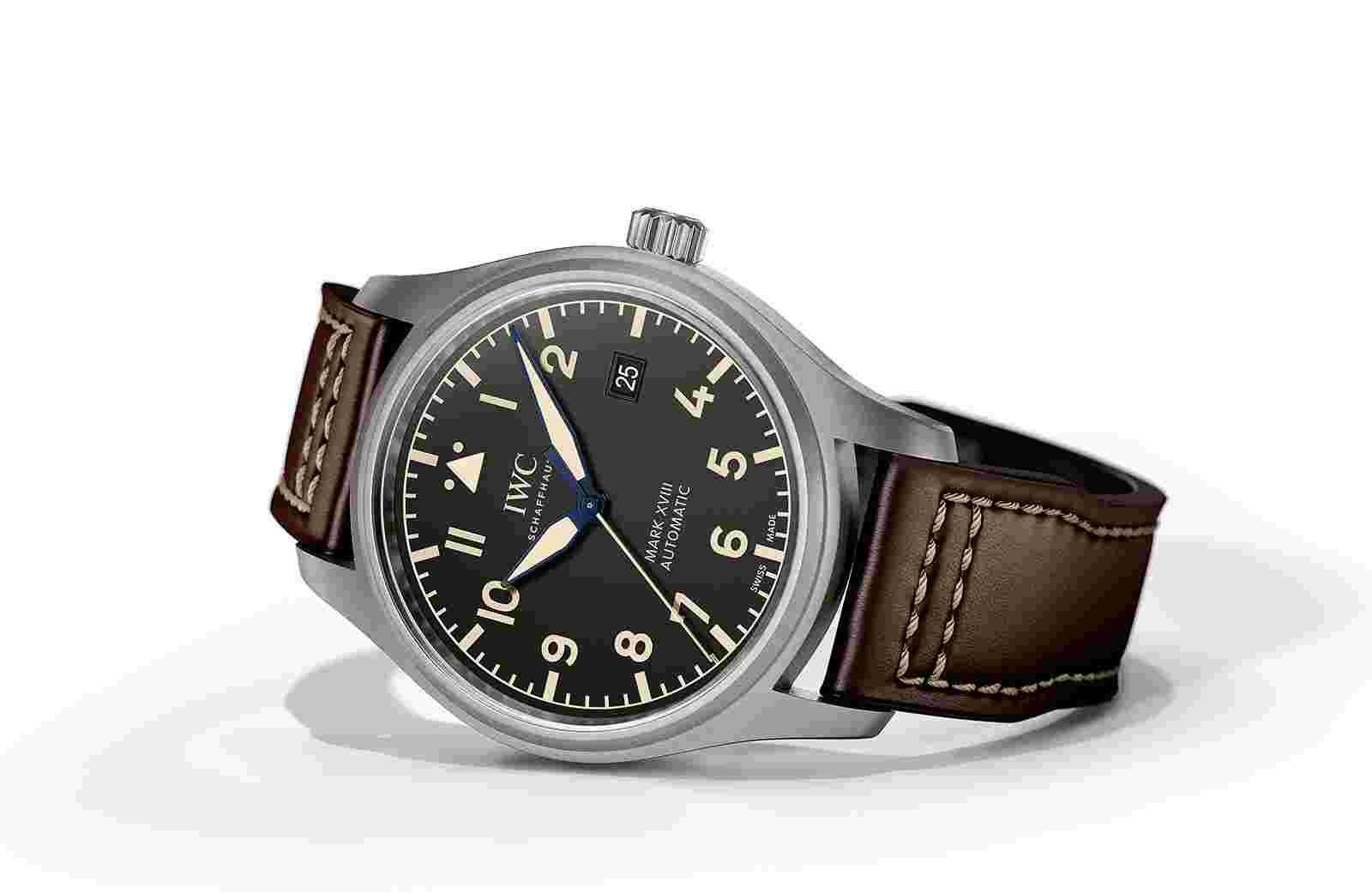 Replica IWC Pilot's Mark XVIII Heritage Titanium Watch Review