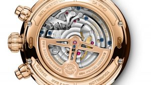 IWC Da Vinci Tourbillon Rétrograde Chronograph Replica Watch For Christmas Day