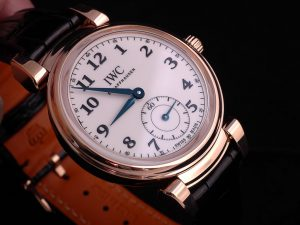 Limited Edition Replica IWC Da Vinci Automatic Edition 150 Years 18K Red Gold Watch Review