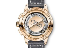 Replica IWC Ingenieur Tribute to Nico Rosberg Red Gold Chronograph Watch Review