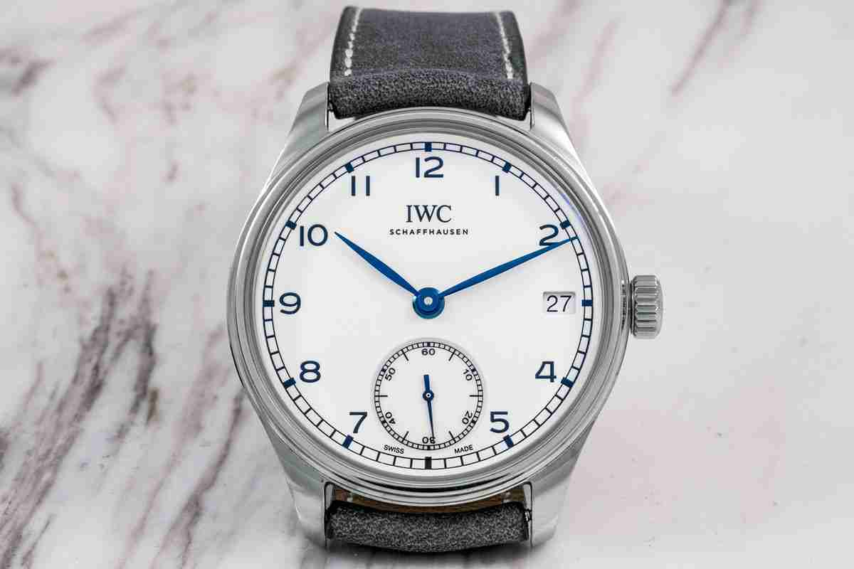 New 2018 Special Replica IWC Portugieser Hand-Wound Eight-Days Edition 150 Years Watch Review
