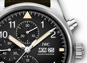 Swiss Replica IWC Pilot's Chronograph 43mm Ref. IW377724 Watch Review