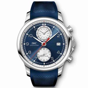 2018 Summer Special Edition Swiss Replica IWC Portugieser Yacht Club Chronograph Watch Review