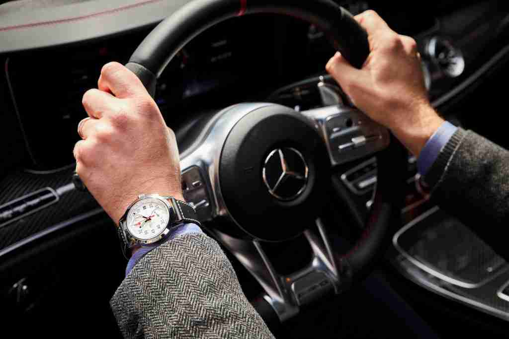 Mercedes-AMG Swiss IWC Ingenieur Chronograph Sport 50th Anniversary Edition Replica Watch Review