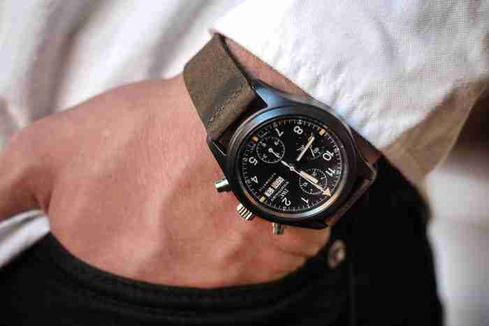2018 IWC Ceramic Aviator Chronograph Ref. 3705 Modern Classic Replica Watches Review