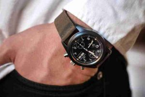 Classic IWC Pilot's Ceramic Fliegerchronograph Ref. 3705 Replica Watches For Black Friday