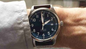 Latest Update Swiss IWC Pilot Mark XVIII Automatic Black And White Dial 40mm Replica Watches Review