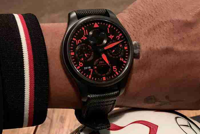 The Lewis Hamilton And His IWC Big Pilots Perpetual Calendar QP Boutique Edition Replica Watches Review
