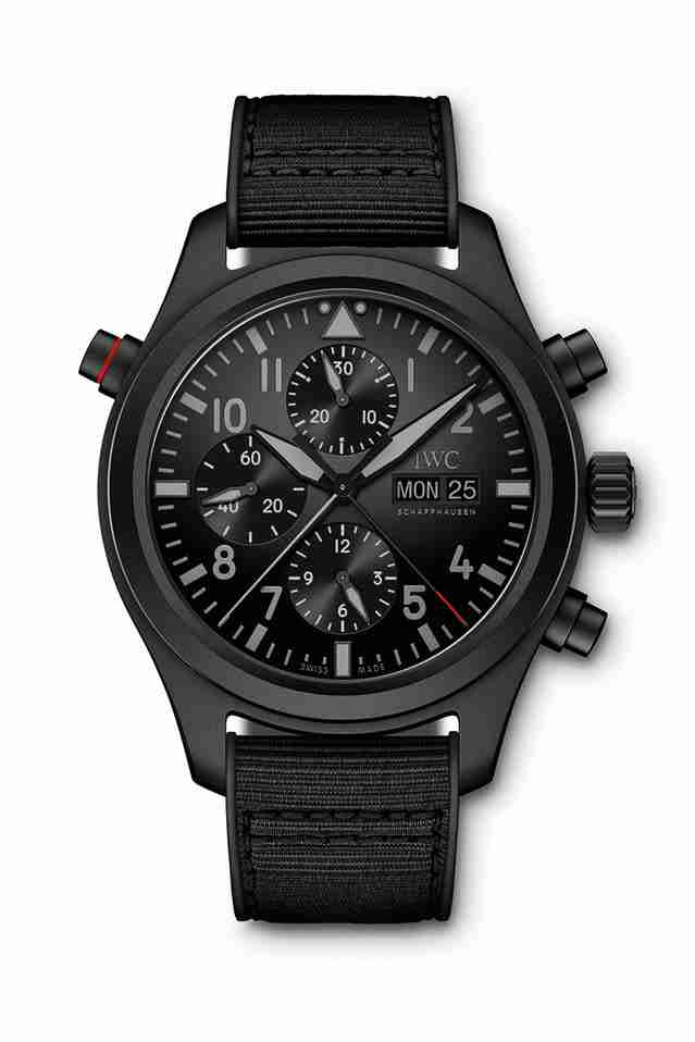 Top Three Swiss IWC Pilot's Chronograph Replica Watches Recommend For 2018 Christmas Day