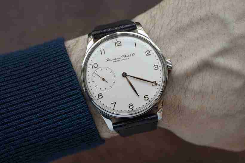 2019 Special Edition Swiss Schaffhausen IWC Portugieser Tourbillon Wristwatch Prototype Replica Watches Review