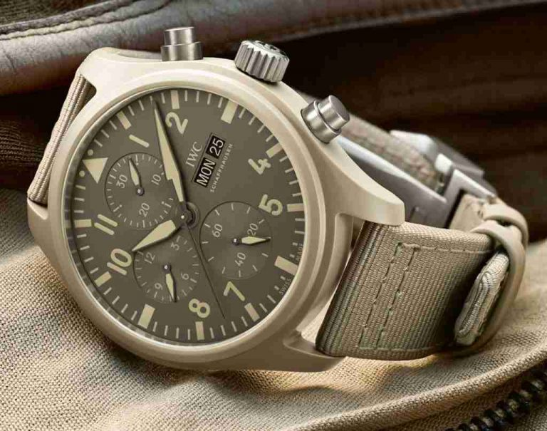 SIHH 2019 Best Swiss Replica IWC Pilot's Chronograph Top Gun Limited Edition Mojave Desert Watches Review