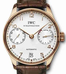 IWC Portuguese 18k Rose Gold 5001-24 Replica Watches Review