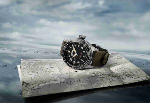The Spitfire Plane And IWC Pilot's Watch Timezoner Spitfire Edition Replica