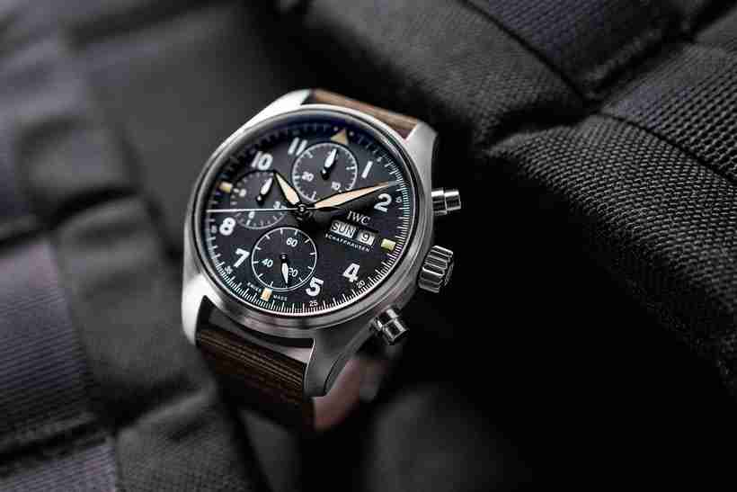 Introducing The Swiss IWC Pilot's Watch Chronograph Spitfire IW387901 Replica