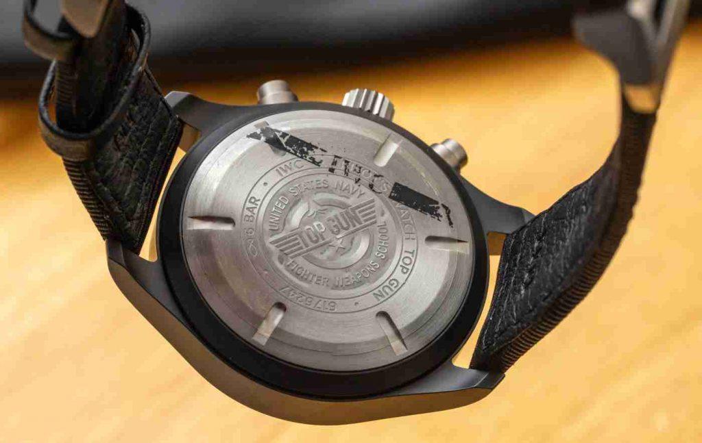 The IWC Pilot's Watch Chronograph TOP GUN Matte Black Ceramic Replica Hands On
