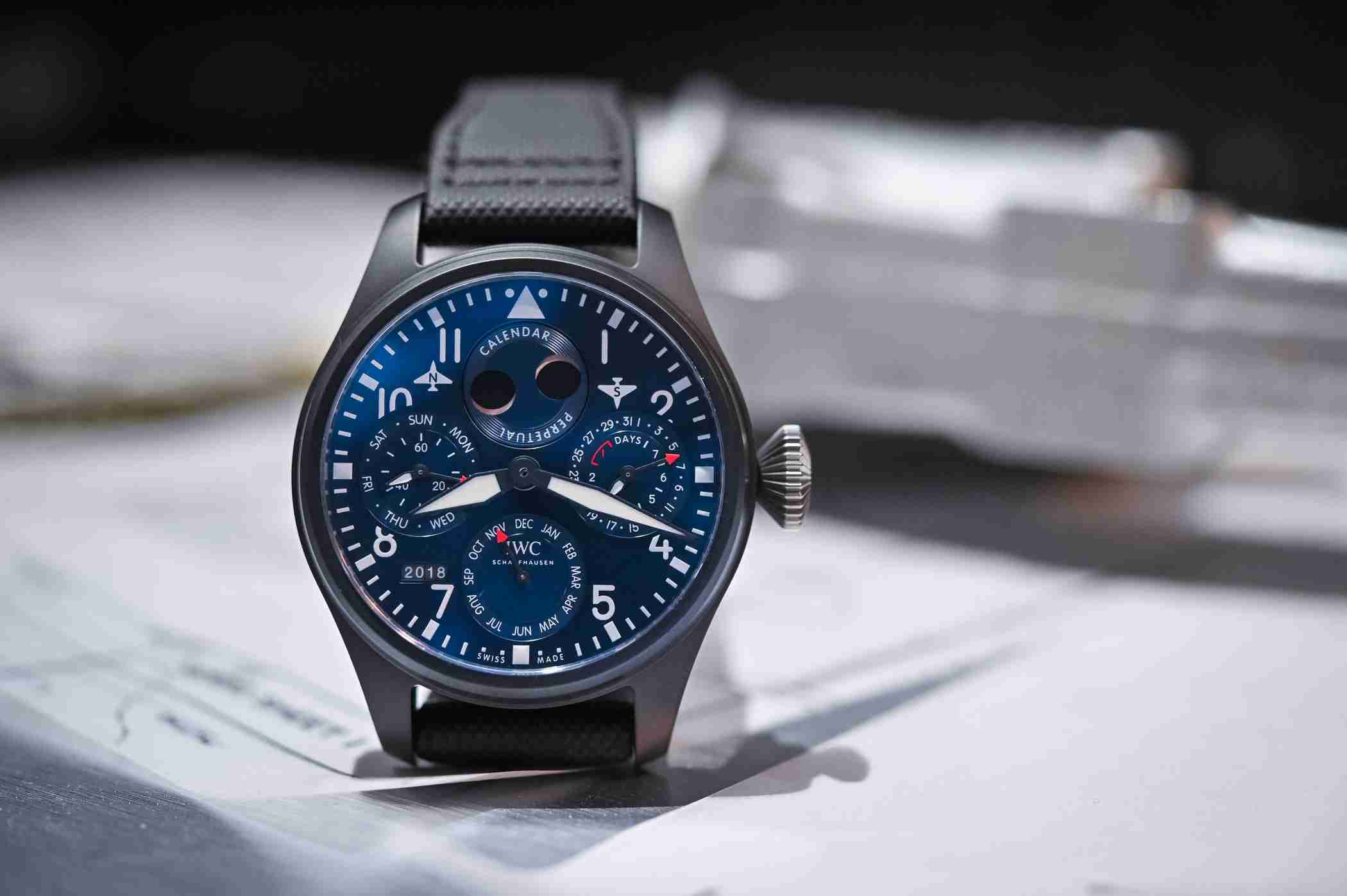 Lewis Hamilton And His IWC Big Pilot's Watch Perpetual Calendar Edition Replica