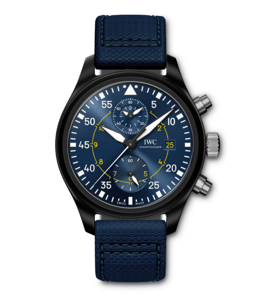 New Swiss IWC Pilot's Watch Chronograph Edition Blue Angels Replica