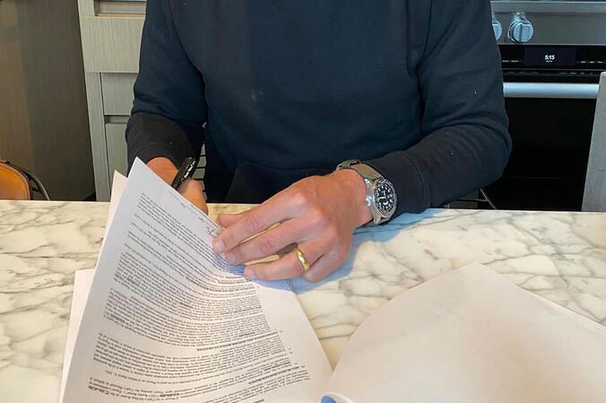 Tom Brady And His Replica IWC Pilot's Timezoner Spitfire Edition Longest Flight Watches