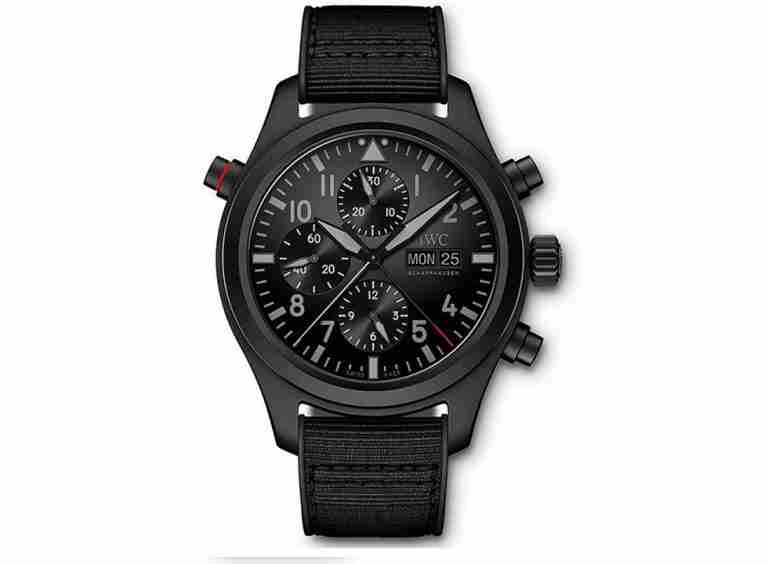 Buying Guide of Replica IWC Pilot's Double Chronograph Top Gun Ceratanium IW371815 Watches