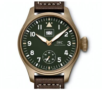 Replica IWC Big Pilot's Watch Big Date Spitfire Stainless Steel IW510506 Limited Edition Review