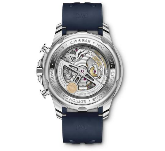 New Released of Replica IWC Portugieser Yacht Club Chronograph Edition Orlebar Brown Watch Review