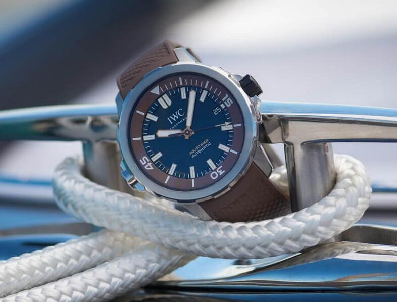 Limited Edition Replica IWC Aquatimer Automatic Edition Boesch Stainless Steel 44mm IW341002 Introducing