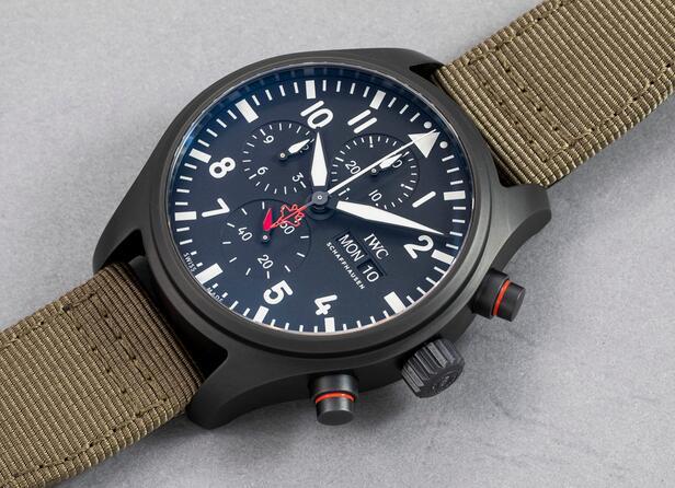The IWC Pilot's Watch Automatic Chronograph Top Gun Edition SFTI 44mm Replica 1