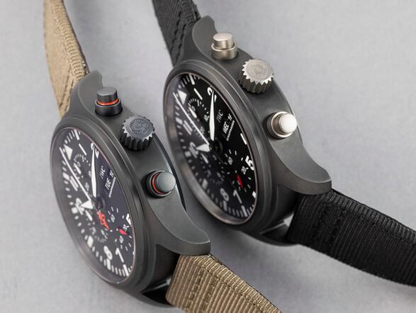 The IWC Pilot's Watch Automatic Chronograph Top Gun Edition SFTI 44mm Replica 3