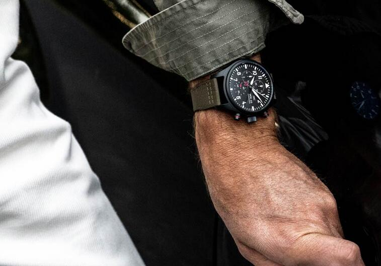 Limited Edition IWC Pilot's TOP GUN Ceratanium Chronograph Watches Guide 3
