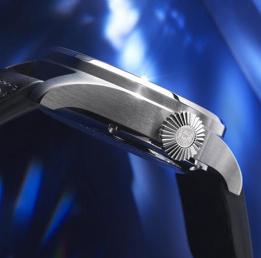 Replica IWC Big Pilot's Big Date Bucherer BLUE Steel 46.2mm Watch Review 3