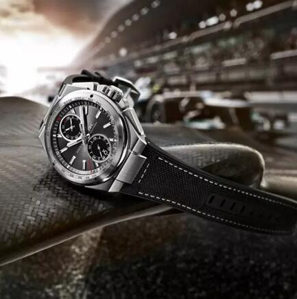 Replica IWC Ingenieur Chronograph Racer Silver Dial Rubber Strap IW378509 Watch Review 1