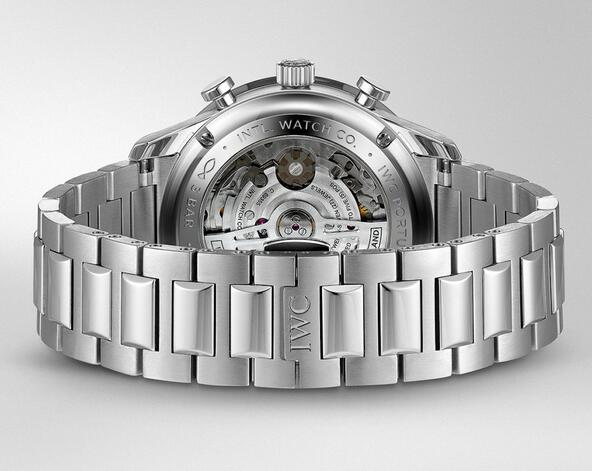 Replica IWC Portugieser Chronograph Steel Bracelet 41mm Watches Review 2