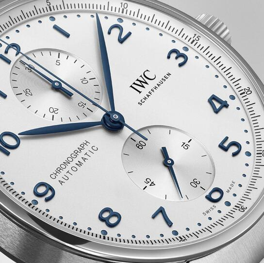 Replica IWC Portugieser Chronograph Steel Bracelet 41mm Watches Review 3