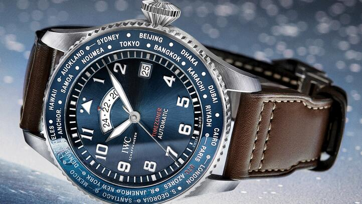 Review of Replica IWC Pilot's Blue Timezoner The Little Prince Limited Edition Watch 1