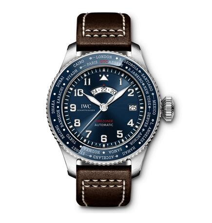 Review of Replica IWC Pilot's Blue Timezoner The Little Prince Limited Edition Watch 2