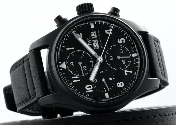 Replica IWC Pilot's Chronograph Edition Tribute To 3705 Watches Review 1