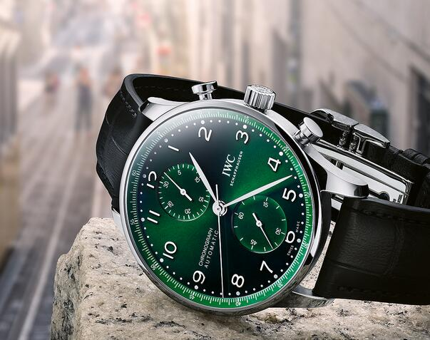 Replica IWC Portugieser Automatic Chronograph Stainless Steel IW371615 Watch Review 1