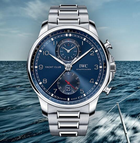 Discussing The Replica IWC Portugieser Yacht Club Chronograph IW390701 1