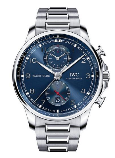 Discussing The Replica IWC Portugieser Yacht Club Chronograph IW390701 3
