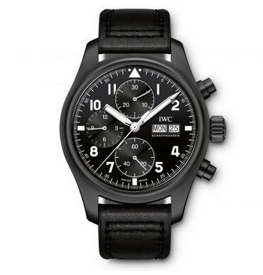 Replica IWC Pilot's tribute to the 1994 Iconic Black Flieger Watches Review 2