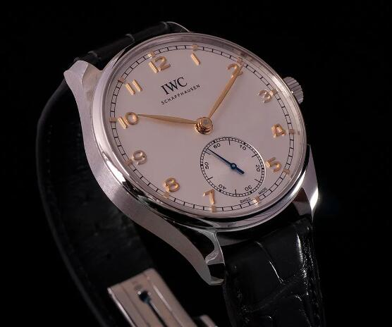Replica IWC Portugieser Automatic 18K Rose Gold And Steel 40mm Watches Review 2