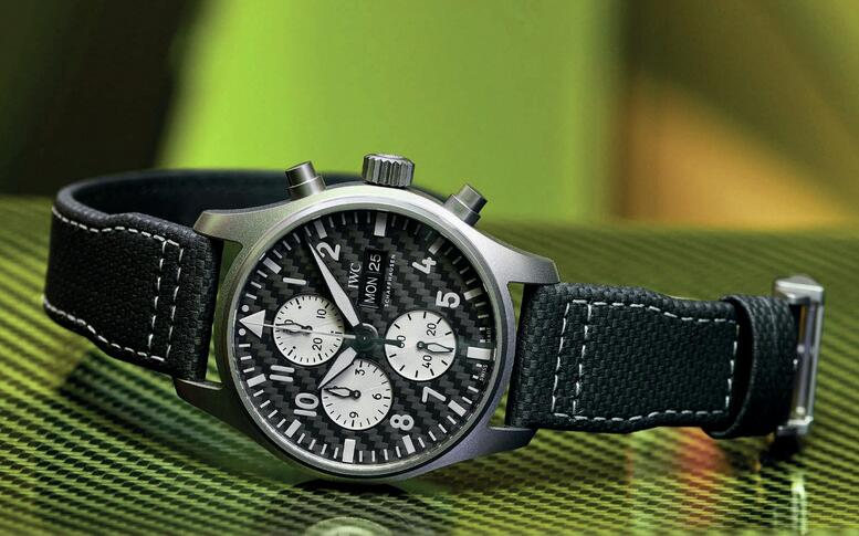 Introducing The Replica IWC Pilot's Chronograph Mercedes AMG Special Edition Collection 1