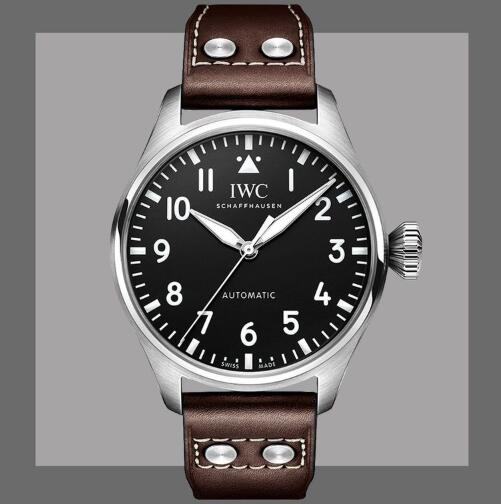 New Replica IWC Big Pilot Automatic Black And Blue Dial Steel 43mm Watches Guide 2